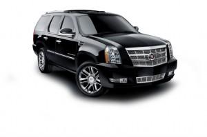 vancouver limo fleet - escalade black